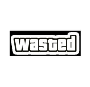 Создать мем: wasted гта шаблон, фото wasted, картинка wasted png