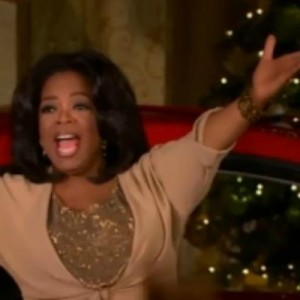 Создать мем: The Giving Oprah, oprah winfrey, oprah