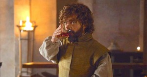 Create meme: tyrion lannister drinking, Tyrion Lannister wine, Lord Tyrion Lannister