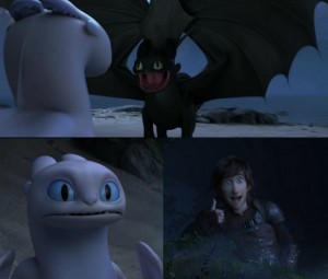 Create meme: httyd 3, how to train your dragon 3 toothless, light fury httyd toothless and